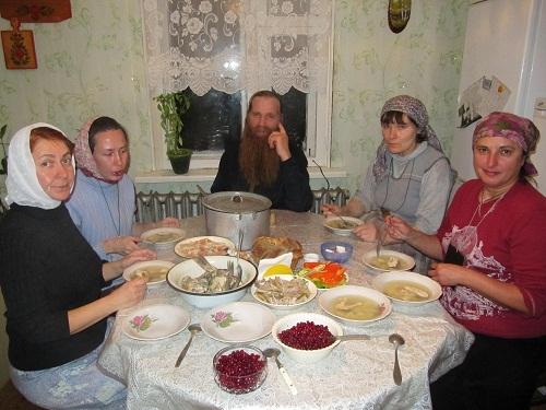 Скромный ужин паломника