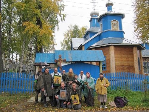 Никольский храм в Рудничном