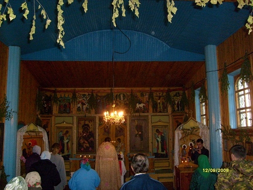 Интерьер Никольск. церкви